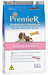 PREMIER AMBIENTES INTERNOS CAES ADULTOS 3 KGS - DERMACARE