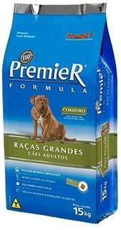 PREMIER FORMULA CAES ADULTOS - G/GG CORDEIRO - SACO COM 15 KGS