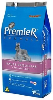 PREMIER FORMULA - CAES ADULTOS RACAS PEQUENAS - SACO 15 KG
