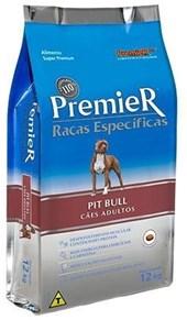 PREMIER RAÇAS ESPECIAIS CÃES ADULTOS - PIT BULL - PACOTE 12 KGS