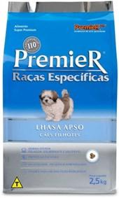 PREMIER RAÇAS ESPECÍFICAS CAES FILHOTES - LHASA SPSO - 2,5KG
