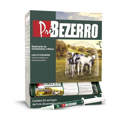 Pró Bezerro 5 ml- Caixa com 24 seringas – JA Saúde Animal