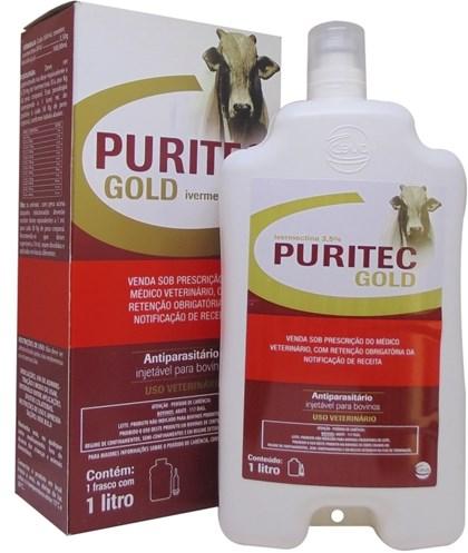 PURITEC GOLD IVERMECTINA 3,5% - 1000ML