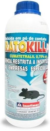 RATICIDA - RATOKILL PO - 1KG - INSETIMAX