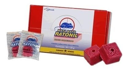 RATICIDA - RATONIL - BLOCO PARAFINADO