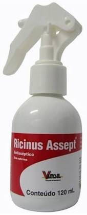 RICINUS ASSEPT  SPRAY 120 ML - VANSIL
