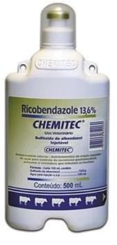 RICOBENDAZOLE 13,6% 500ML - CHEMITEC