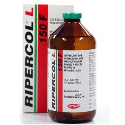 Ripercol L 150F - Controle de Verminose - Fosfato de Levamisol 18,8% - 250 Ml - Zoetis