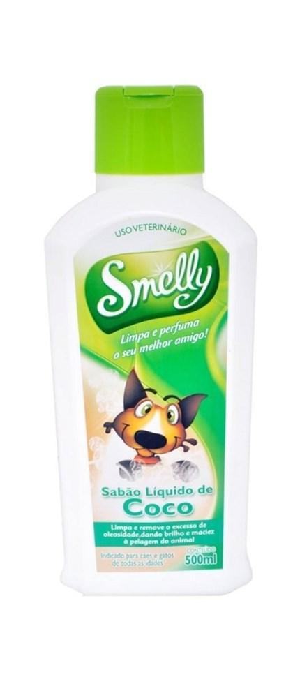 SABAO LIQUIDO DE COCO SMELLY 500ML