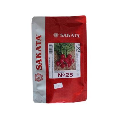 Semente de Rabanete N.25 – 100 gramas - Sakata