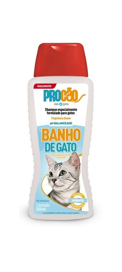 SHAMPO BANHO DE GATO   -   PROCAO