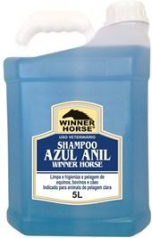 SHAMPOO AZUL ANIL 5 LITROS (INDICADO PARA PELAGEM CLARA) - WINNER HORSE