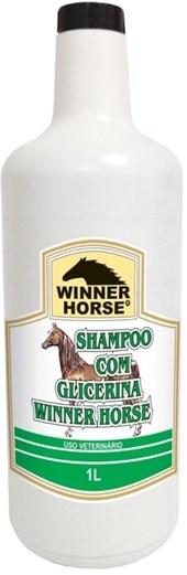 SHAMPOO COM GLICERINA 1 LITRO (MACIEZ E SUAVIDADE) - WINNER HORSE