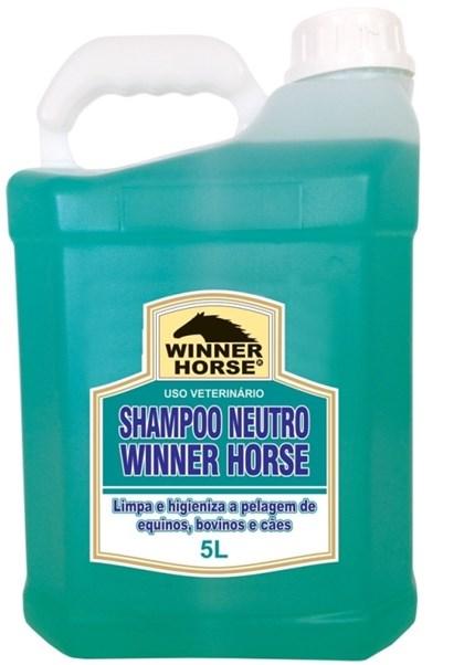 SHAMPOO NEUTRO 5 LITROS (FÓRMULA SUAVE) - WINNER HORSE