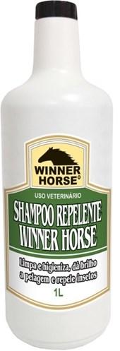 SHAMPOO REPELENTE 1 LITRO (HIGIENIZA E REPELE INSETOS) - WINNER HORSE