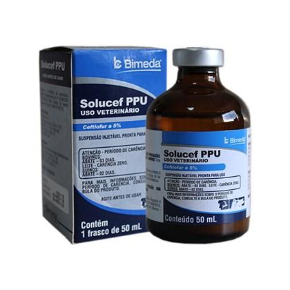 Solucef PPU – Ceftiofur – 50 mL - Bimeda