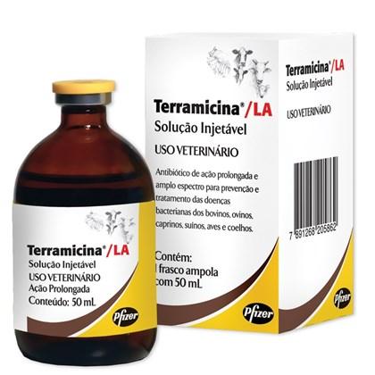 TERRAMICINA LA 50 ML OXITETRACICLINA - ZOETIS