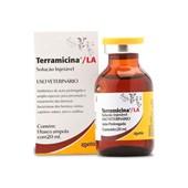 Terramicina LA Solução Injetável - Antibiótico oxitetraciclina 20 mL