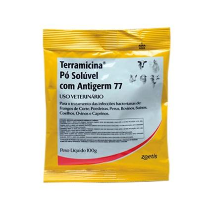 Terramicina Pó Solúvel com Antigerm 77 - Antibiótico oxitetraciclina – Zoetis