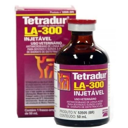 TETRADUR LA 50 ML - OXITETRACICLINA 30% -  BOEHRINGER INGELHEIM