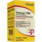 TETROXY 200 / BIOGENTAL - OXITETRACICLINA LA 20% - 50ML - BIMEDA