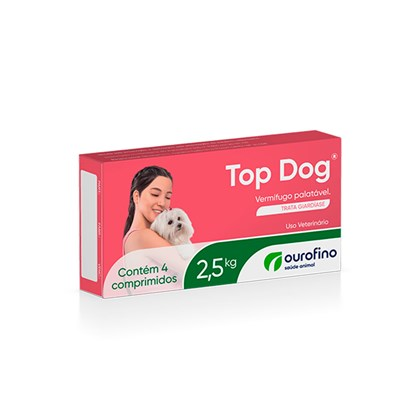 TOP DOG 2,5 KG - 250 MG - Ourofino
