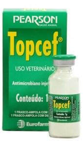 TOPCEF 1 GR - 1G DE CEFTIOFUR + DILUENTE 20 ML
