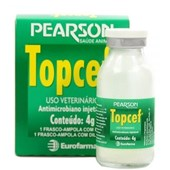 TOPCEF 4 GR - 4 GR DE CEFTIOFUR + DILUENTE 80 ML