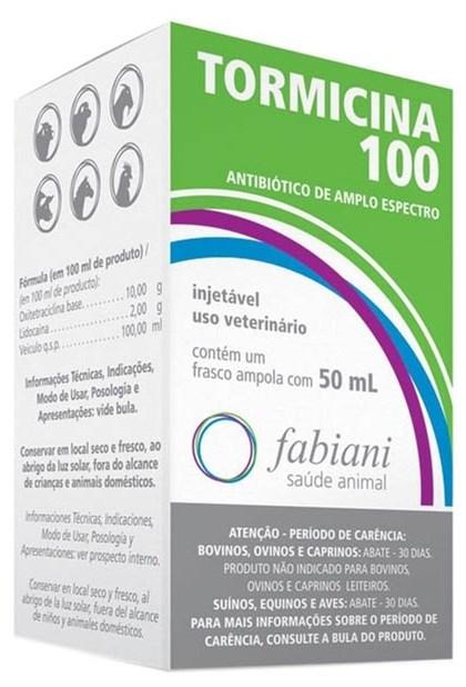 TORMICINA 100 50 ML