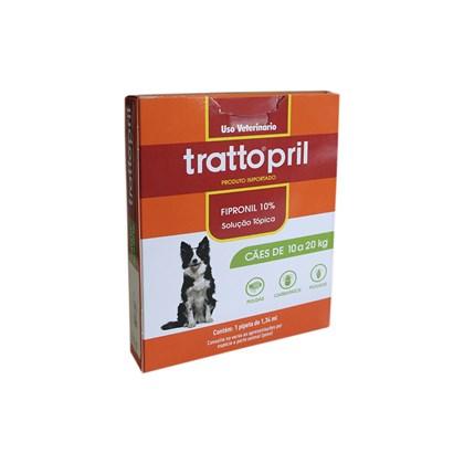 Tratto pril – Firponil 10% - Cães de 10 a 20kg – Lema
