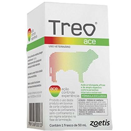 Treo Ace - Endectocida Doramectina 3,5% Injetável – 50 mL – Zoetis