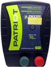 TRU TEST - ENERGIZADOR PATRIOT PMX200 70KM