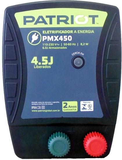 TRU TEST - ENERGIZADOR PATRIOT PMX450 130KM
