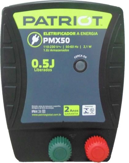 TRU TEST - ENERGIZADOR PATRIOT PMX50 25KM