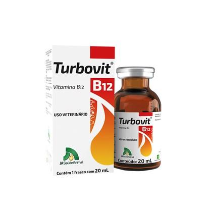Turbovit B.12 - J A Saúde Animal -  20 Ml